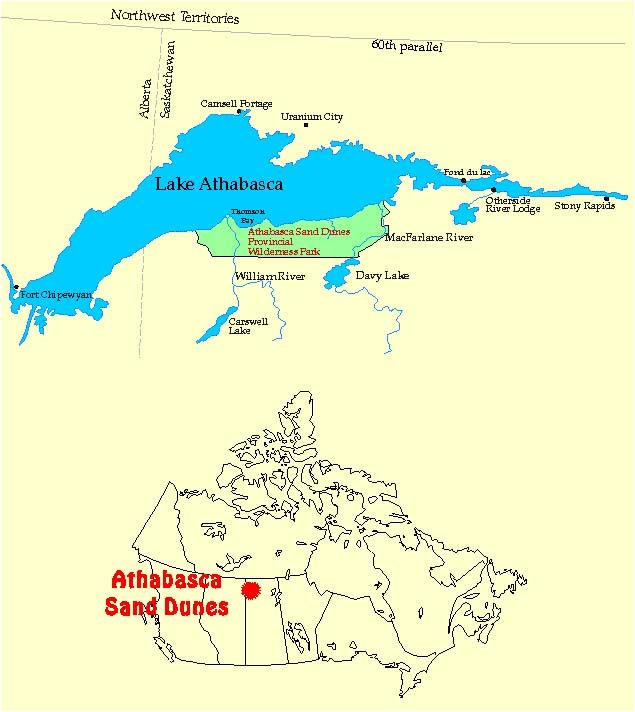 lake athabasca on map Lakenet Lakes lake athabasca on map