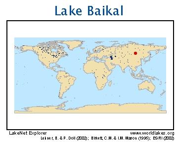 Lake Baikal World Map.Lakenet Lakes