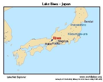 lake biwa japan map Lakenet Lakes lake biwa japan map