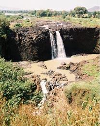 Tis issat falls on the blue nile river below lake tana november 2003