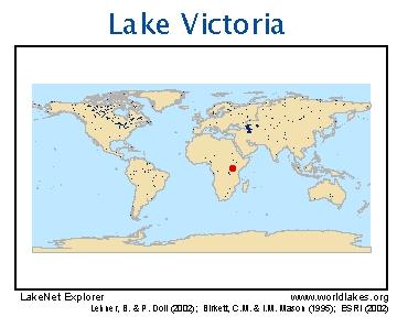 Map Of Africa Lake Victoria.Lakenet Lakes