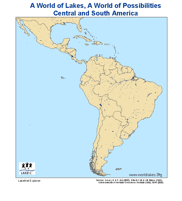 A World Of Lakes A World Of Possibilities Latin America